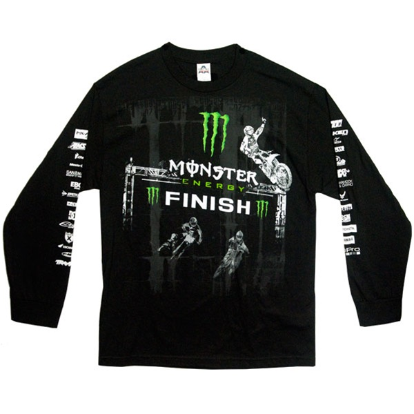 monster energy supercross victory ls tee. Black Bedroom Furniture Sets. Home Design Ideas